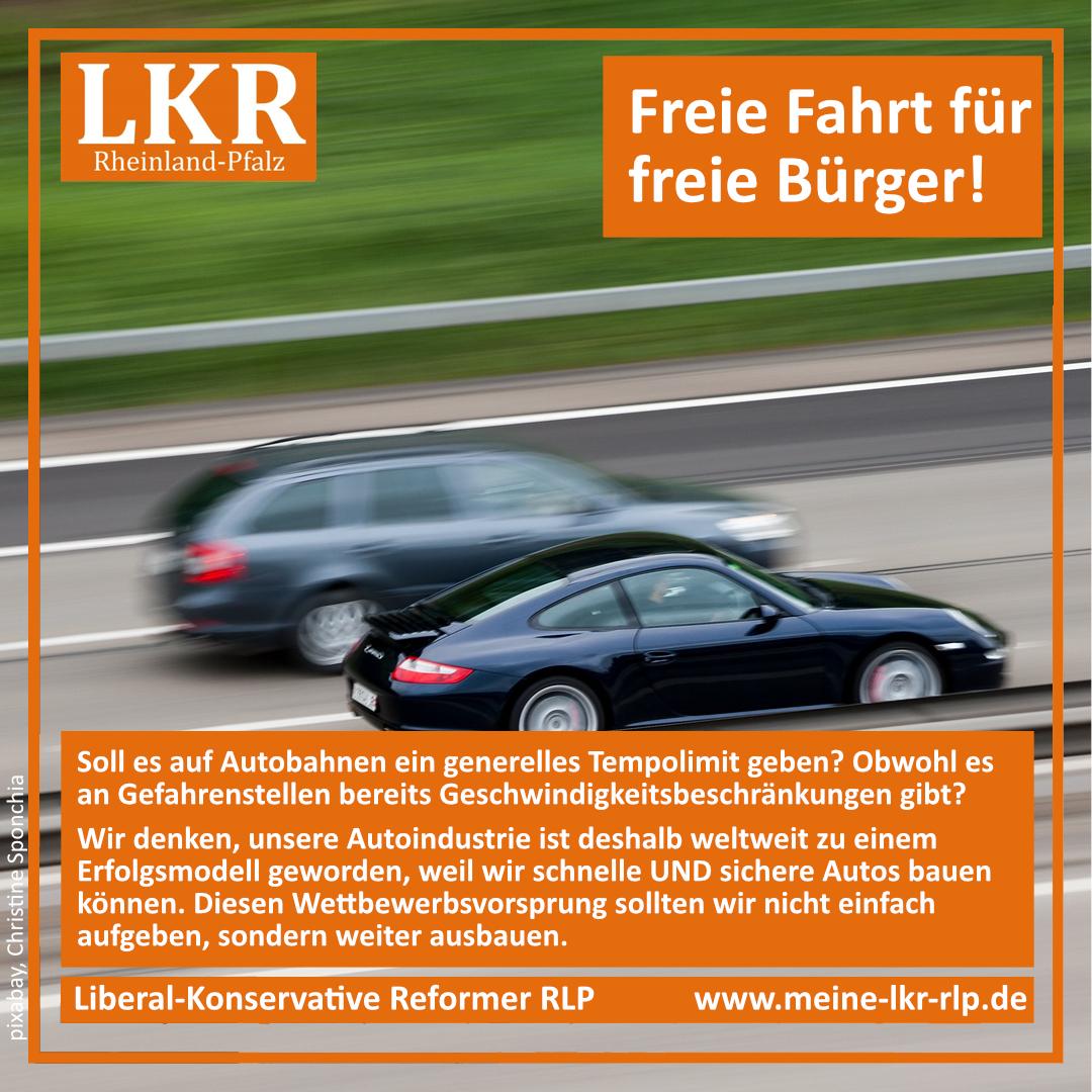 LKR_Kein-Tempolimit-Freie-Fahrt-freie-Buerger